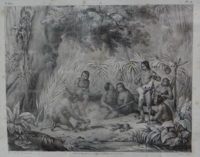 Indiens Dans Leer Cabone