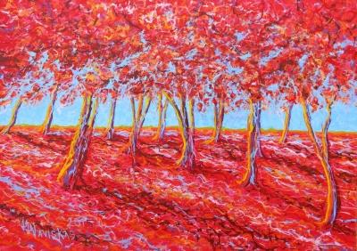 O bosque vermelho