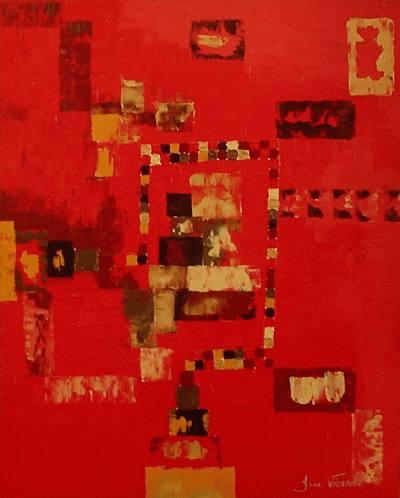 Vermelho Abstrato