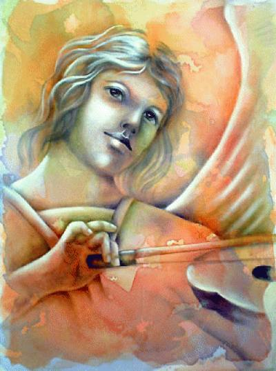 Anjo Violinista