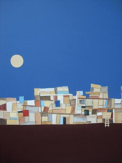Favela com Lua