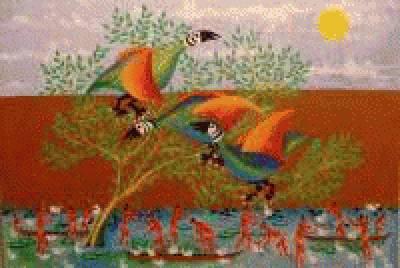 Pássaros e Indios da Amazônia