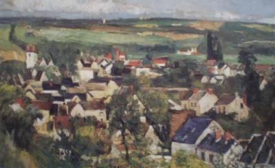 Vista Panorâmica de Auvers