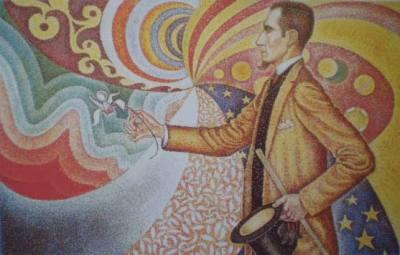 Retrato de Félix Fénéon
