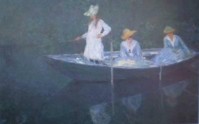 Barca em Giverny