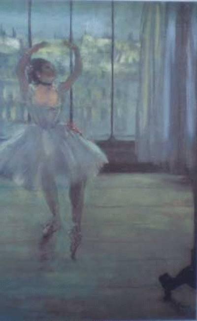 Bailarina em Frente da Janela