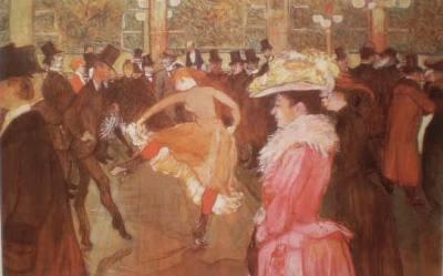 A Dança no Moulin Rouge