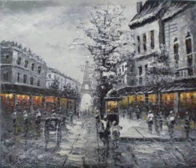 Paris em preto e branco