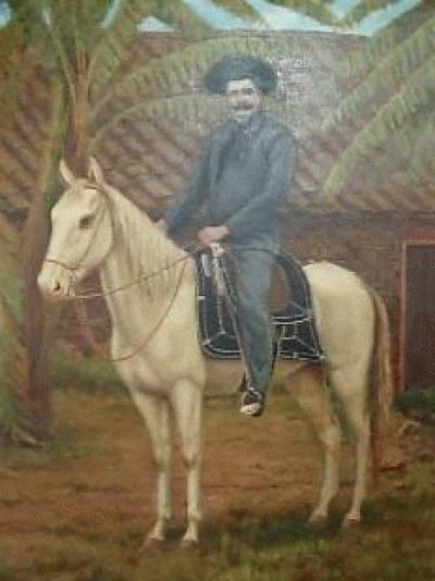 Homem Montado à Cavalo
