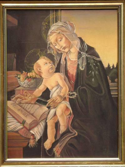 Releitura de Botticelli