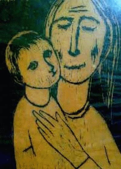 Senhora com Criança