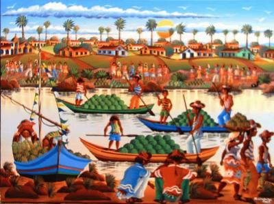 Canoeiros no Vai e Vem