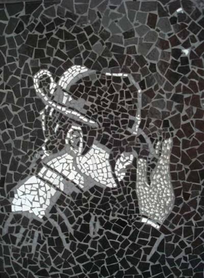 Billie Jeans-Luva em vidro