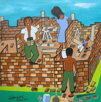 Construção de pobre